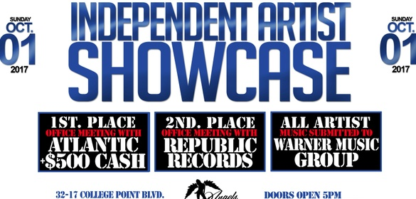 independent artist showcase sponsormyevent
