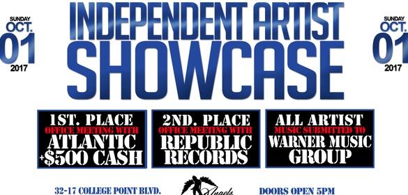 independent artist showcase sponsormyevent