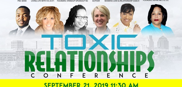 Conference on Toxic Relationships - SponsorMyEvent