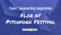 Event Sponsorship Inspiration: Flor Carpet Squares at Pitchfork
