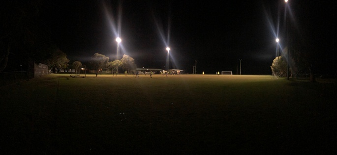 New Lights For Byron Bay Fc Urgent Need Chuffed Non