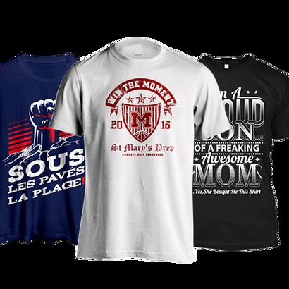 T-Shirt Design - Designhill (Graphic Design) - Recommended