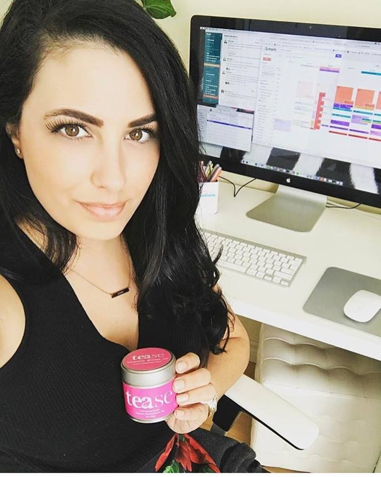 Sheena Brady - Founder/Owner Tease Tea