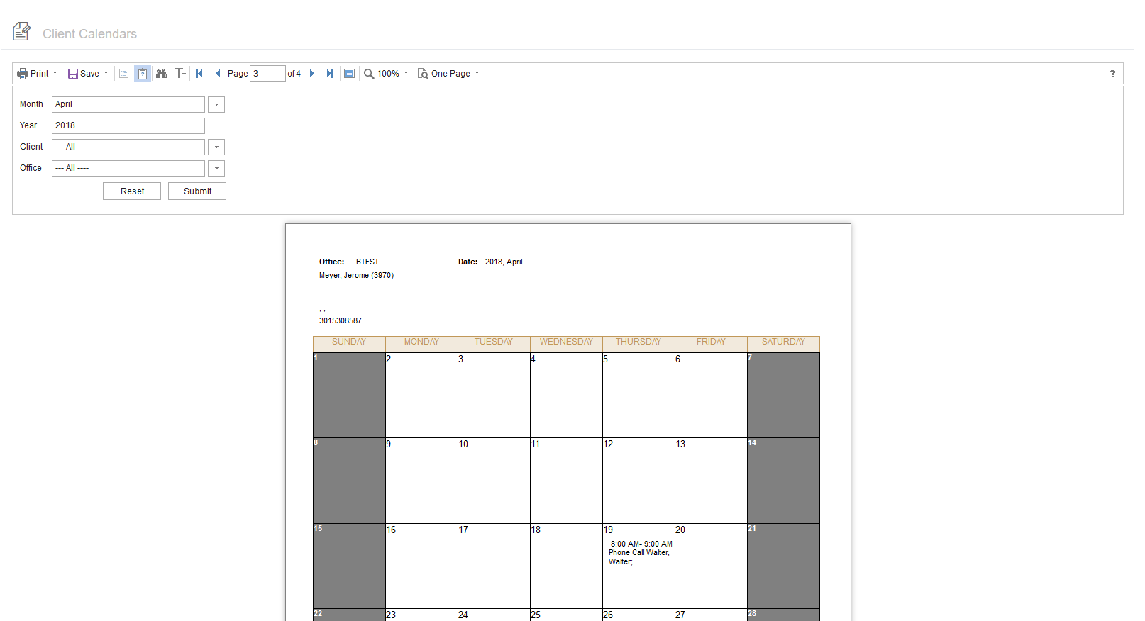 Stimulsoft Monthly-Scheduler-View report | Codementor