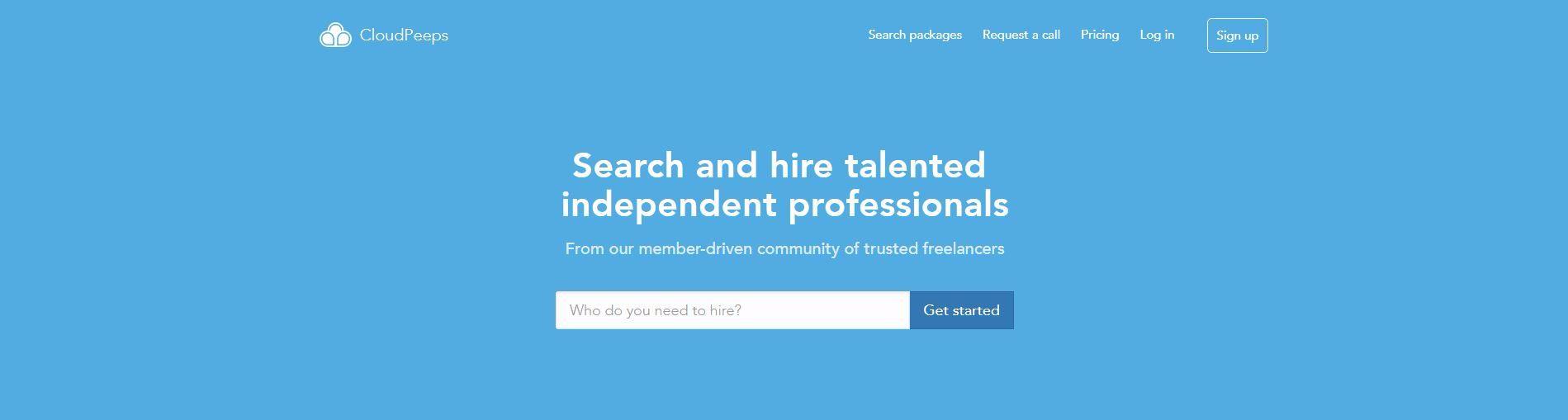 Cloudpeeps Freelance Marketplace