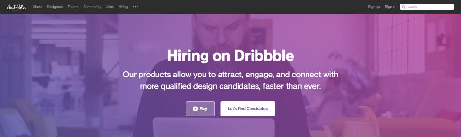 Dribbble Freelance Designers
