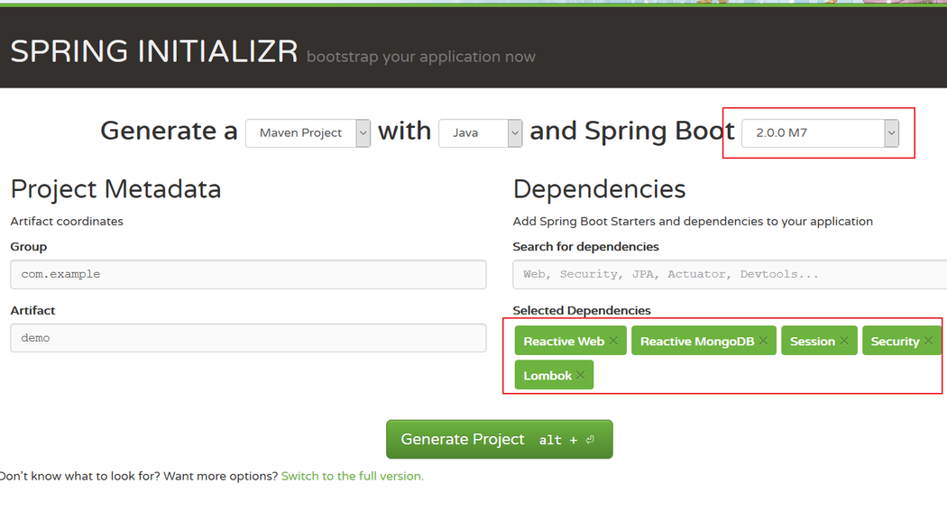 Build a Reactive application with Angular 5 and Spring Boot