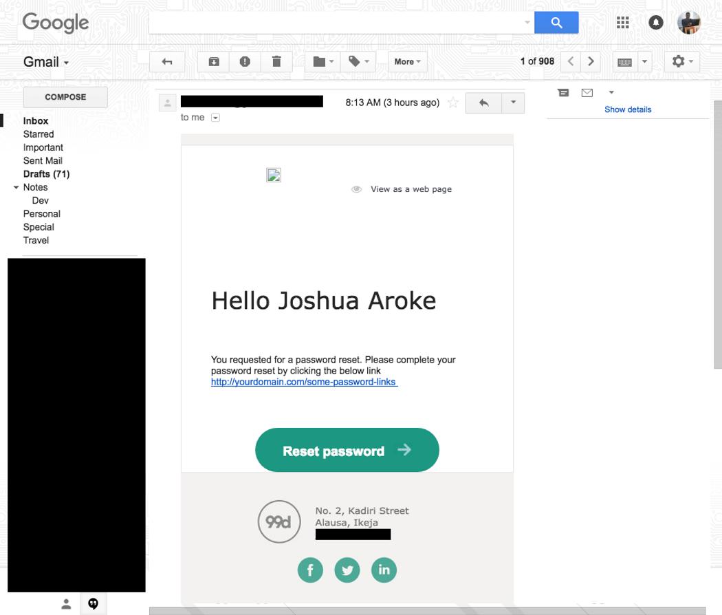 Sending HTML Email in Nodejs/Express | Codementor