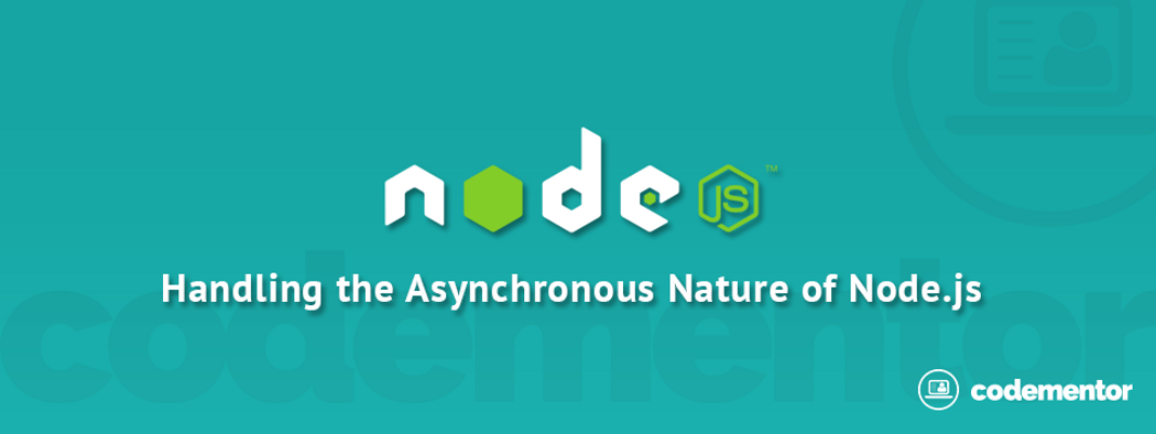 Handling the Asynchronous Nature of Node js: Sample Project