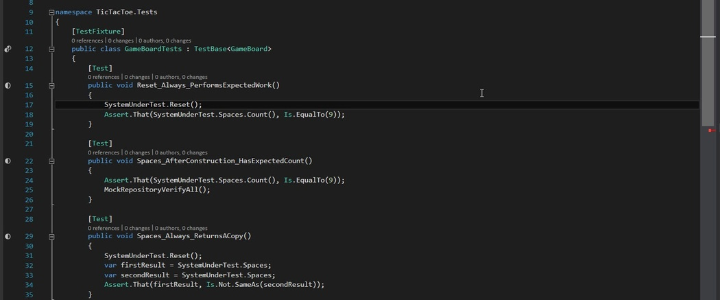 Intro to Unit Testing C# code with NUnit and Moq (part 1