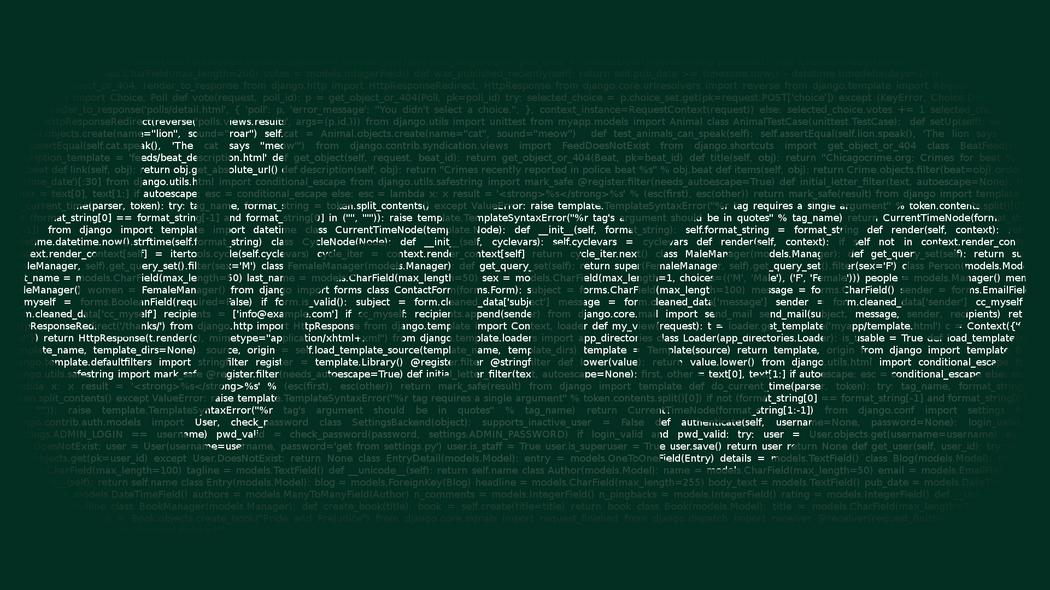 Creating Custom Template Tags In Django Application | Codementor