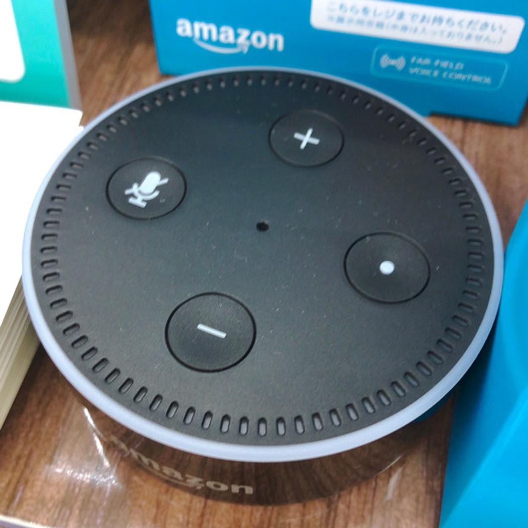 Controlling Amazon echo dot with shell: a bit of fun