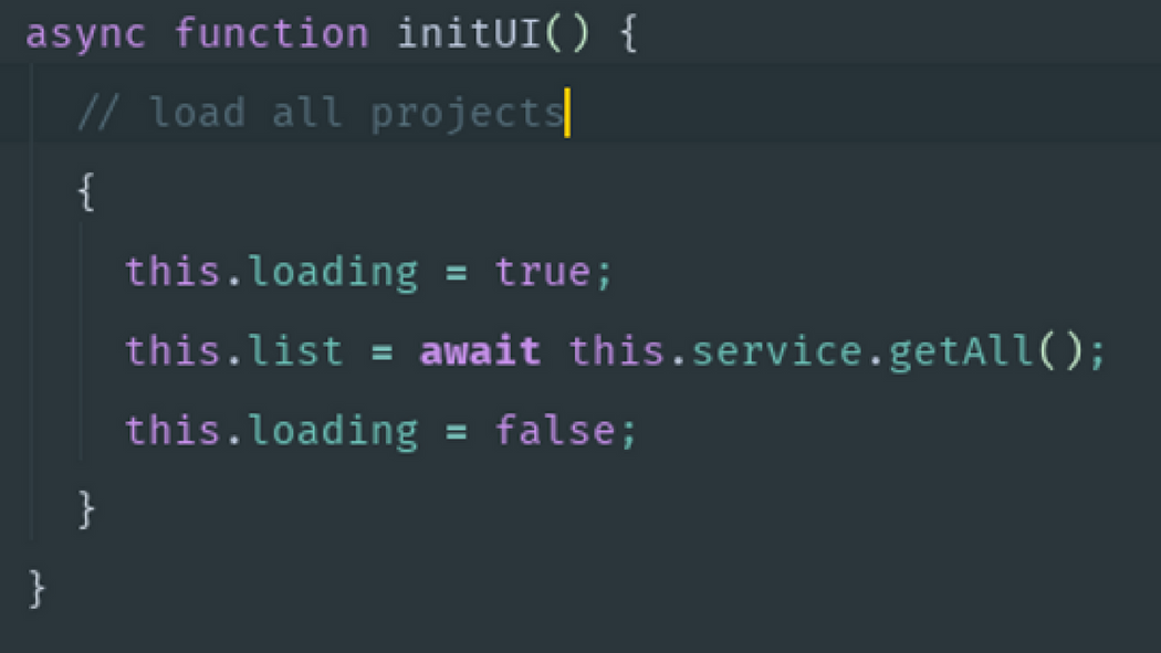 Asynchronous JavaScript made readable again: async/await