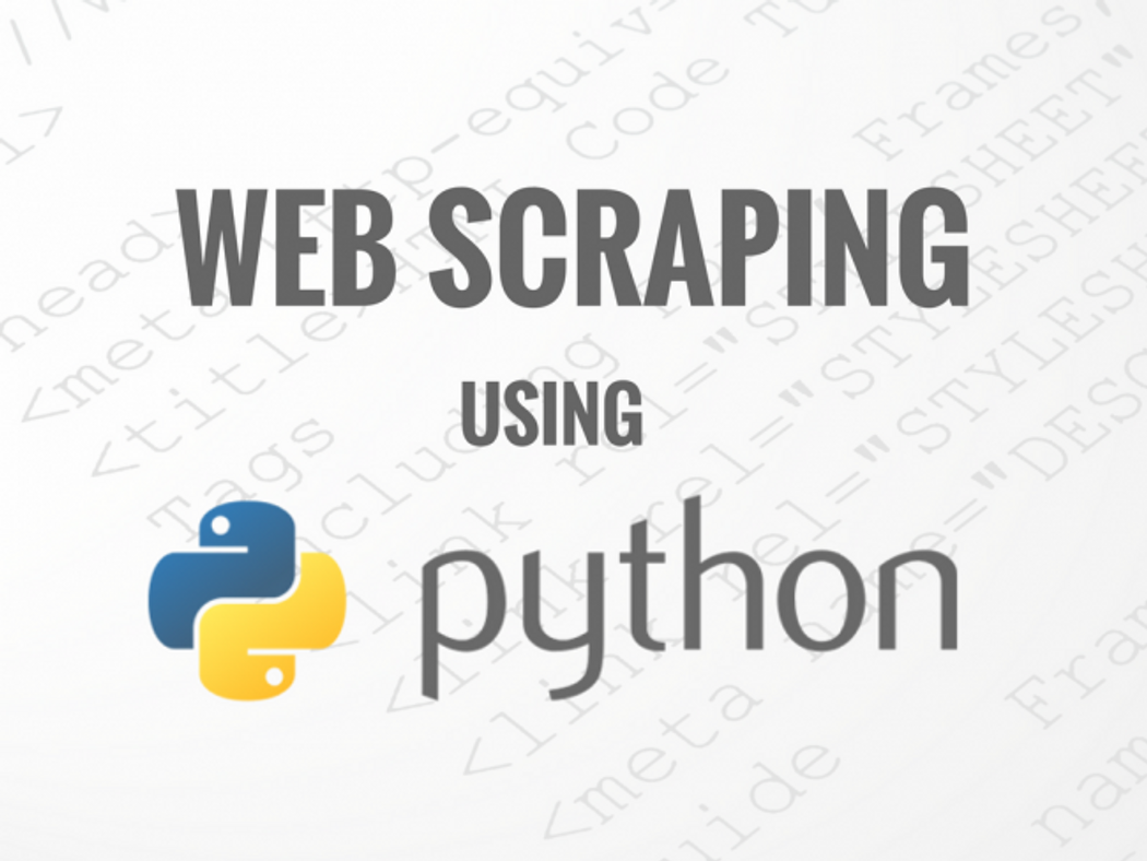 Web Scraping using Beautiful Soup | Codementor