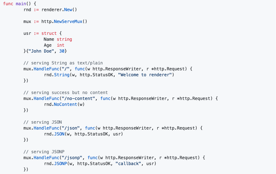 Simple, lightweight and faster response (JSON, JSONP, XML