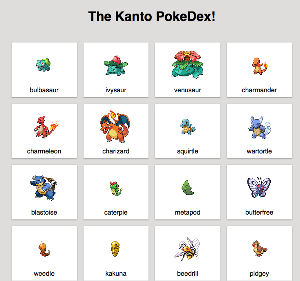 Building a Pokedex with React | Codementor