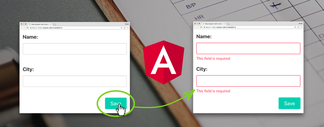 Angular techniques: Improve submit button's UX by NOT