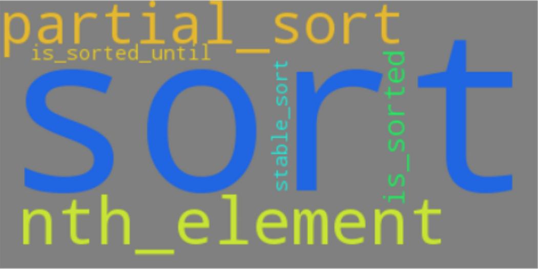 C++ Cheat Sheet: Built-in Sort Functions | Codementor