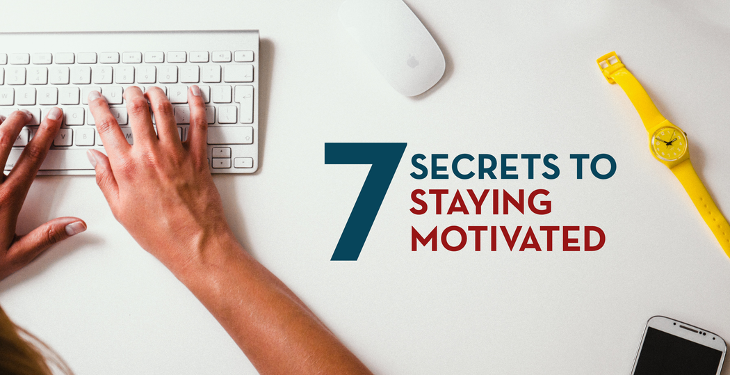 7 Secrets to Staying Motivated When Learning to Code