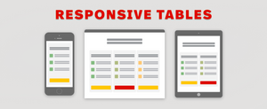 Responsive Design in Tables