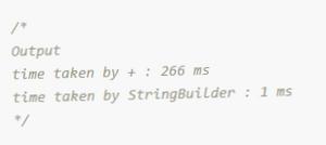 String Concatenation in JAVA