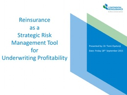 2015 INSURANCE PROFESSIONALS' FORUM: Paper 5