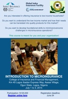 Introduction To Microinsurance