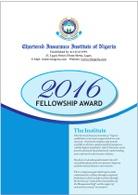 2016 Fellowship Awards