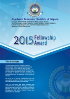 2015 Fellowship Award