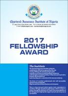 2017 FELLOWHIP AWARD