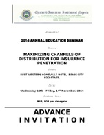2014 Annual Education Seminar