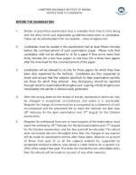 STUDENT INSTRUCTION HANDBOOK