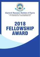 2018 FELLOWSHIP AWARD EXERCISE