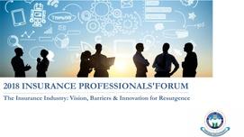 2018 INSURANCE PROFESSIONALS' FORUM PAPER 1