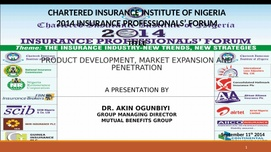Product Development, Market Expansion And Penetration