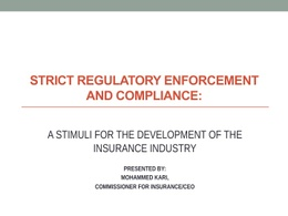 Strict Regulatory Enforcement And Compliance
