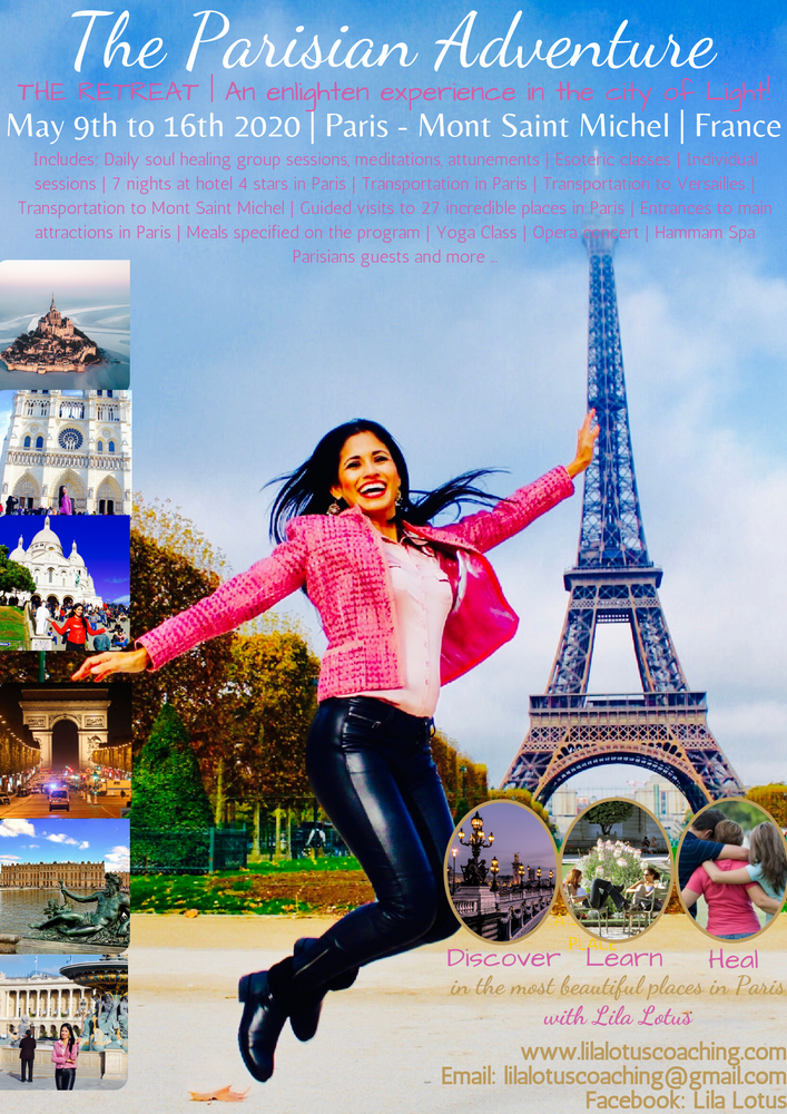 The Parisian Adventure  ~ An enlighten experience in the city of Light