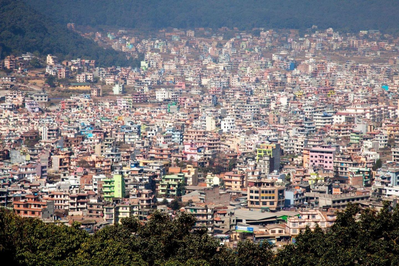 To the heart of Kathmandu.