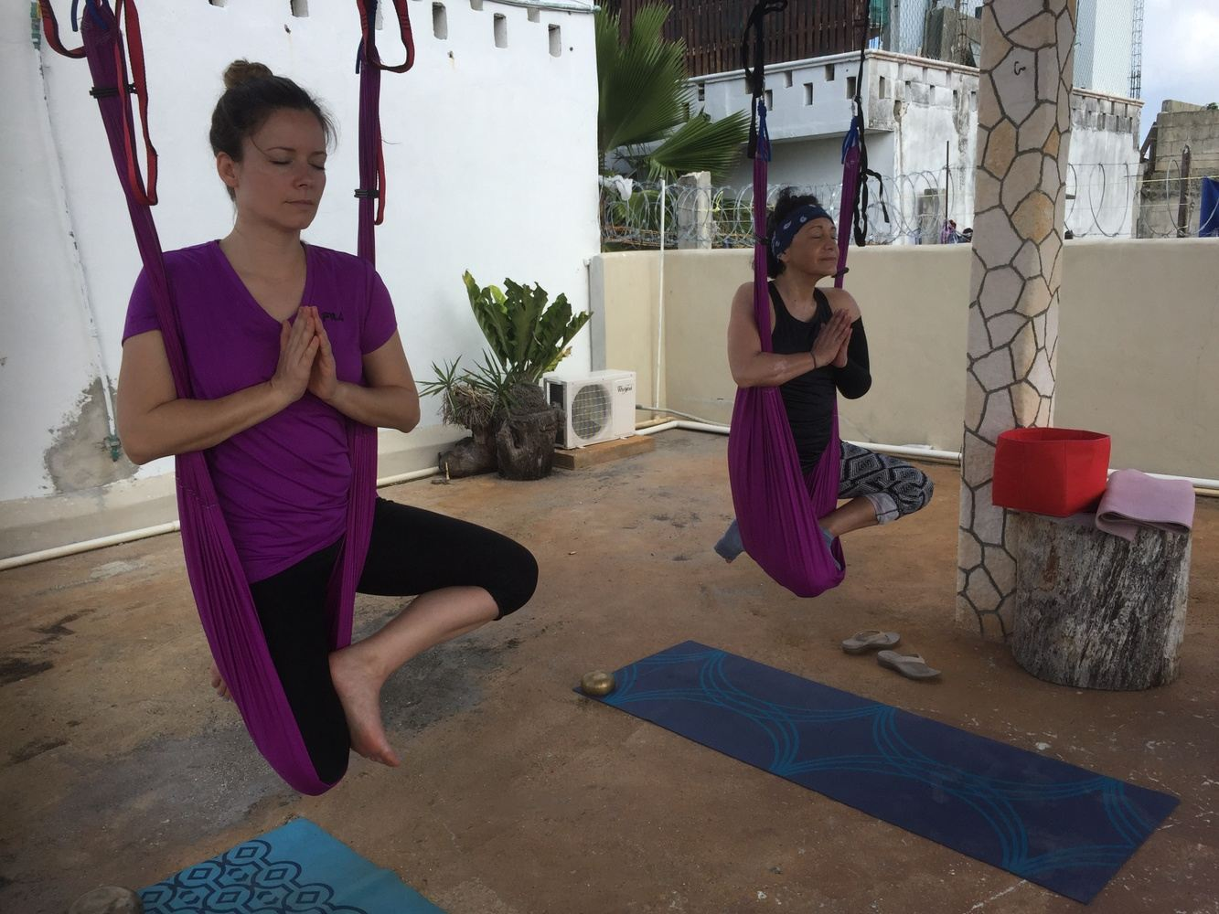 6 days Aerial Yoga and Detox in Cyprus