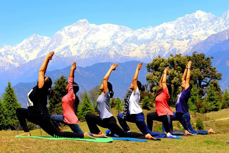 5 Days Himalayas Yoga Retreat in Rishikesh, India
