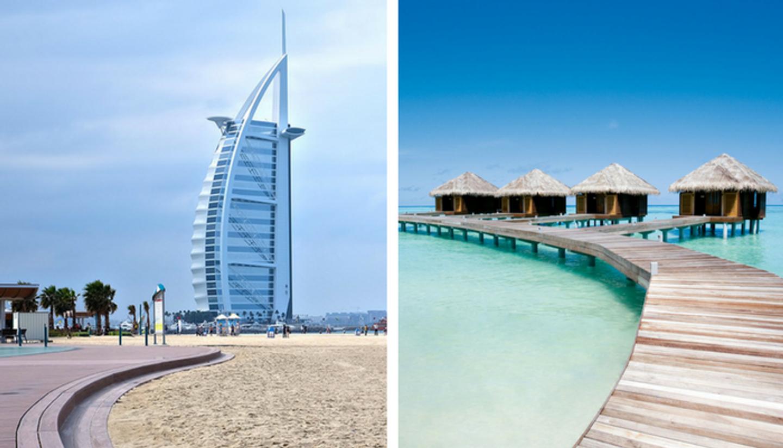 Girls trip To Dubai and Maldives