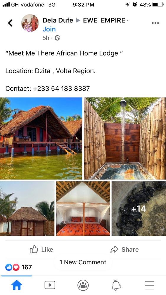 Journey to discover Volta region