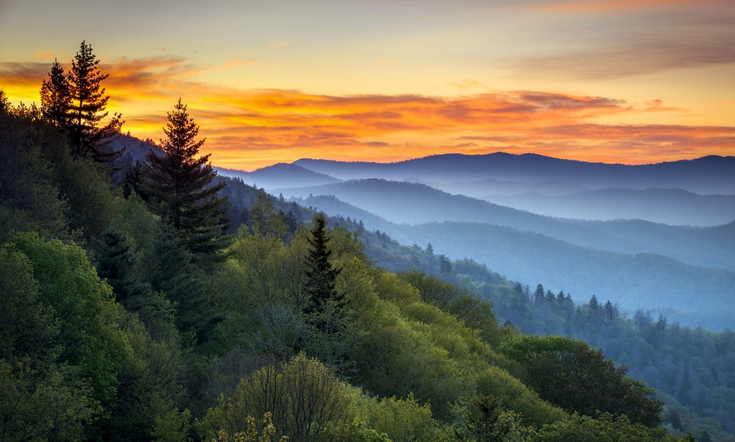 Great Smoky Mts. and Asheville