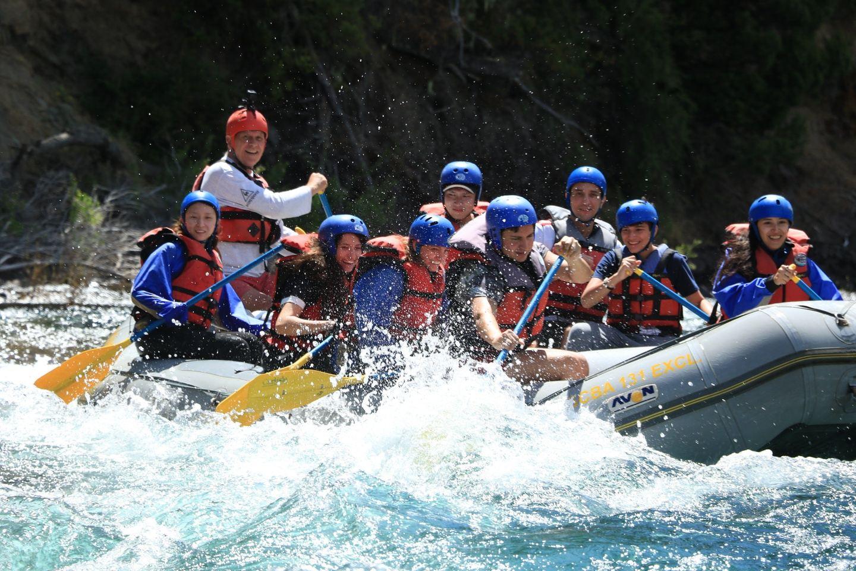 Rafting en el Manso clase II/III