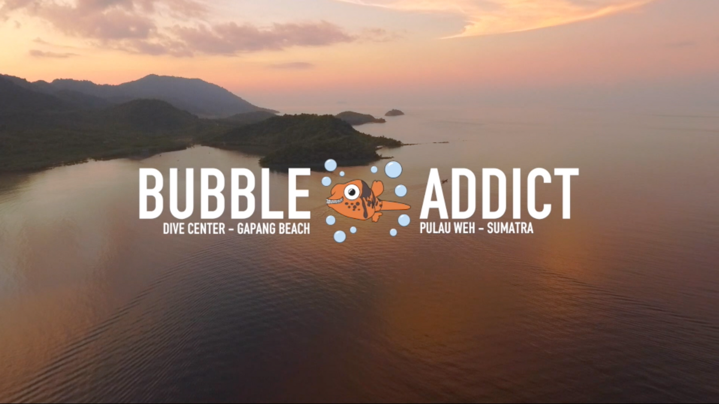 Deposit for your diving trip or your stay with Bubble Addict.