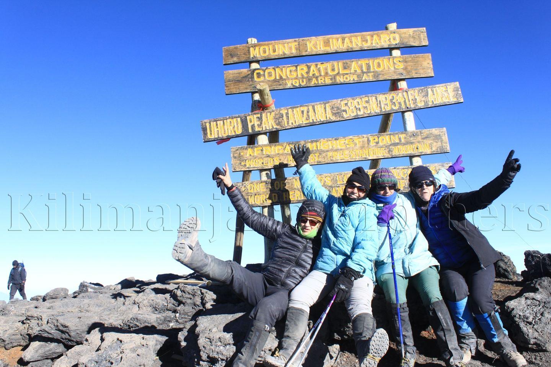Join Group Kilimanjaro Western Breach Lemosho Route.
