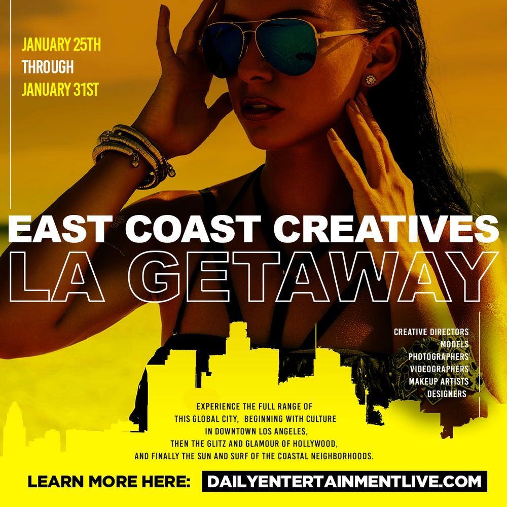 East Coast Creatives LA Getaway