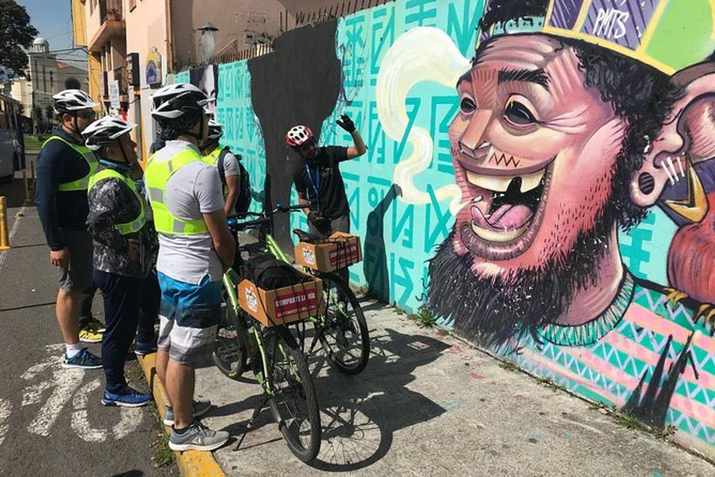Explore Urban Quito on a Bike (Jennifer Tanebuam group).