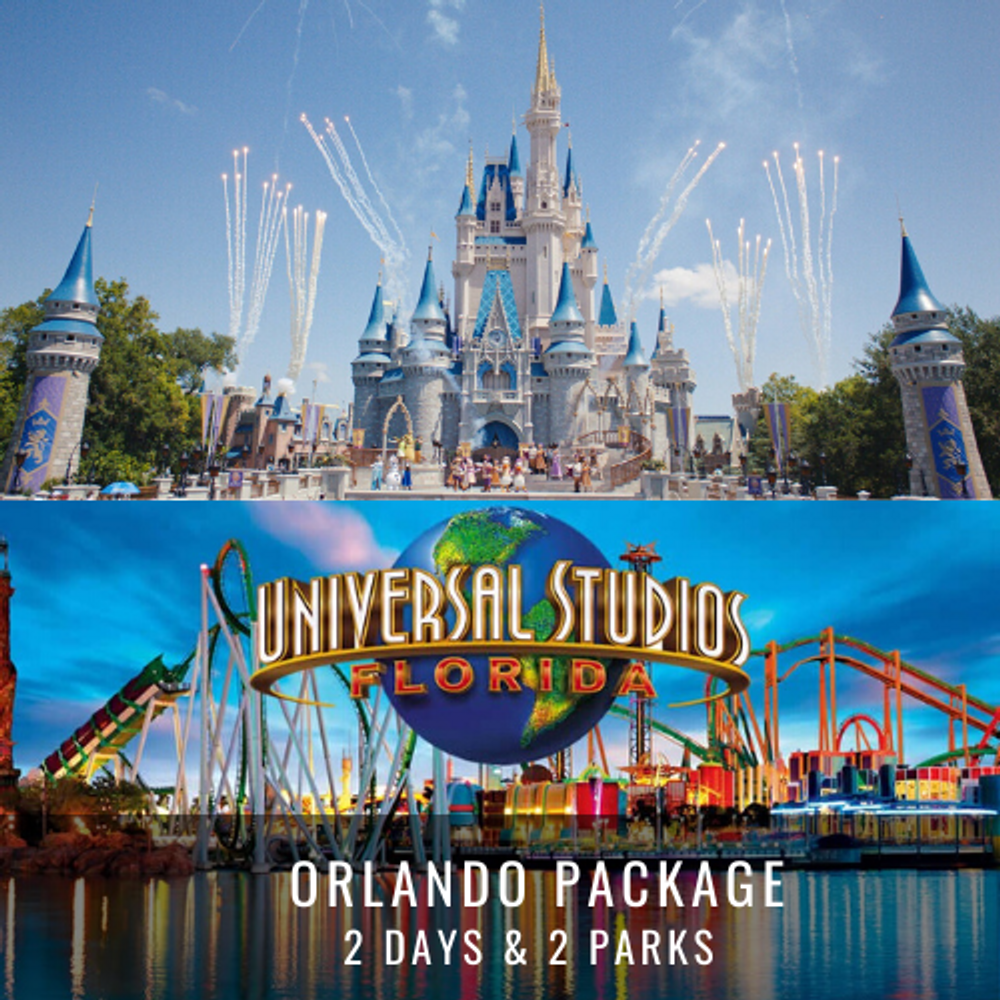 ORLANDO PACKAGE – 2 DAYS & 2 PARKS