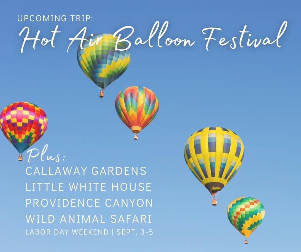 Callaway Gardens Hot Air Balloon Festival Group Tour
